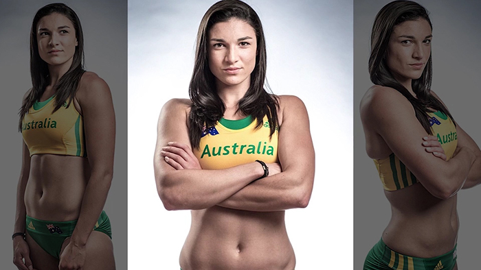 Michelle Jenneke breast implants.