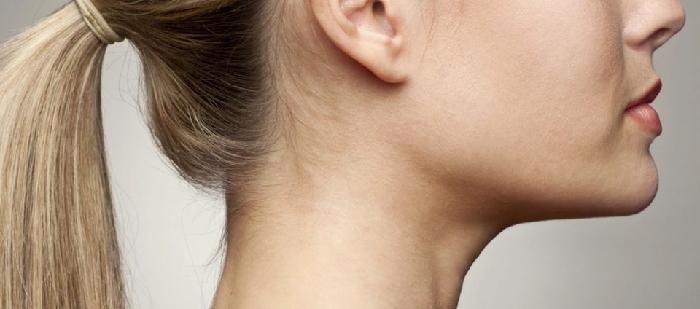 Ideally contoured neck.