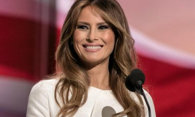 The First Lady of the United States of America - Melania Trump.