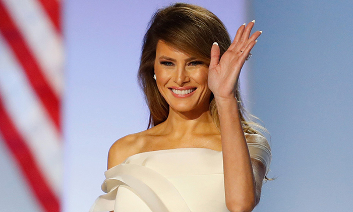 The First Lady - Melania Trump.