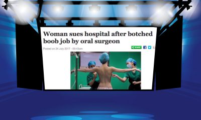 Woman Has Botched Breast Aug Performed by Oral Surgeon