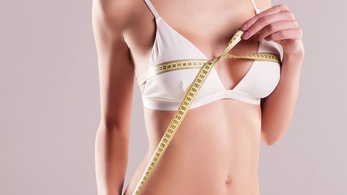 Measurements for a Natural Breast Augmentation.