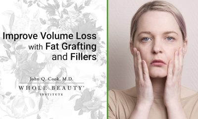 Counteract facial volume loss with fat, fillers, or both.